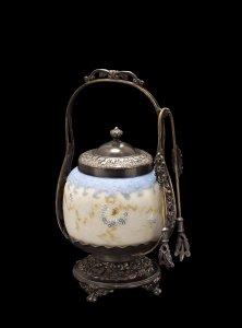 Pickle Jar with Albertine Decoration