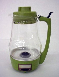 Electric Percolator and Cover