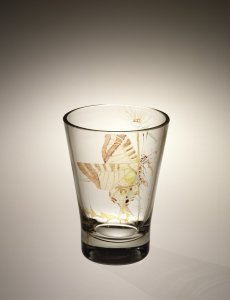 Vase with Butterfly