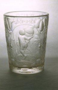 Beaker Engraved with the Seasons
