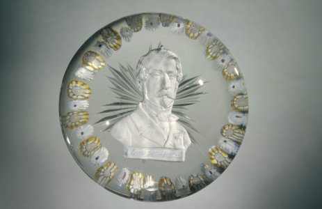 Paperweight with Sulphide of Napoleon III