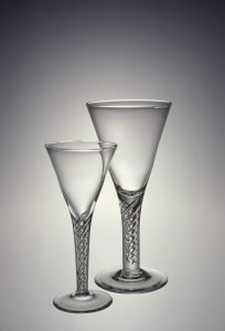 Goblet, Claret and Liqueur