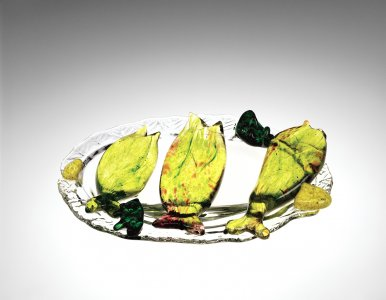 Homage to Palissy: Still Life with Fish
