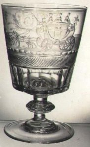 Goblet with a Coach