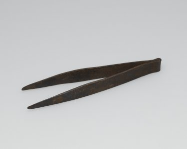 Metal Tweezers with Rounded Tips