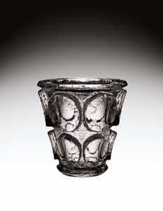 Vase with Acid-etched Decoration