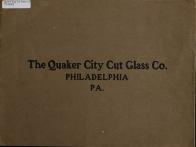 [Cut glass catalog].