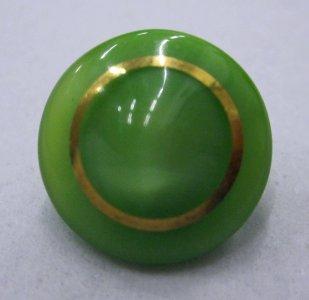 Green Gilt Button