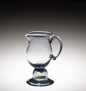 Cream Jug with 1794 U.S. Penny in Knop