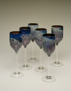 """6 """"New Mexico"""" Goblets"""
