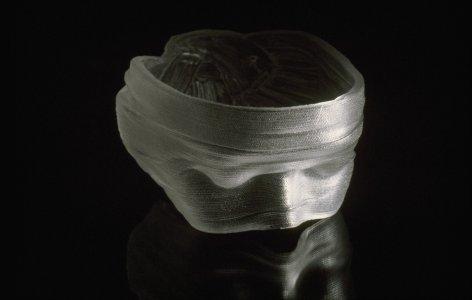 Glass blindfold [slide].