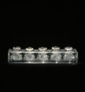 Perfume sample tester with black background [transparency]