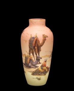 Burmese Vase with Egyptian Scene