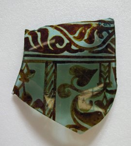 Fragment of Wall of Lustre Vessel