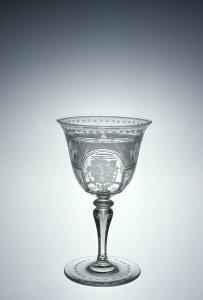 """Wineglass in """"Adam #2"""" Pattern"""