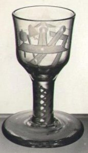 Wineglass or Firing Glass