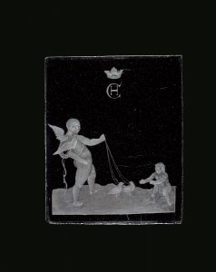 Plaque with Cupid