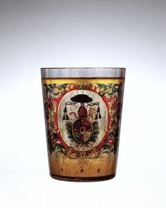 Armorial Beaker (Zwischengoldglas)