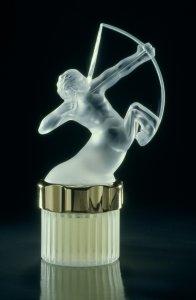 """""""Mascotte Sagitaire"""" flacon designed by Lalique [slide]"""