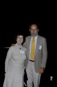 CMG Seminar 1980 [slide]: Mrs. Falk and Mr. B. / K. Gunsalus slide.