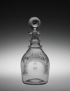 Masonic Decanter with Stopper