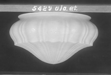 Shape no.: 5429 [molded dome shade] [picture].
