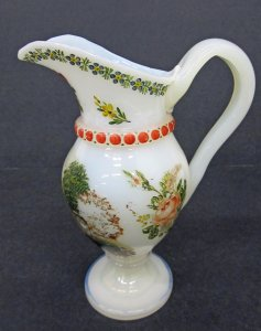 Pitcher with Landscape Scene