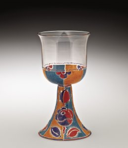 Goblet with Roses