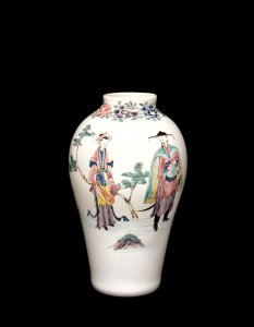 Vase with Chinoiserie Decoration