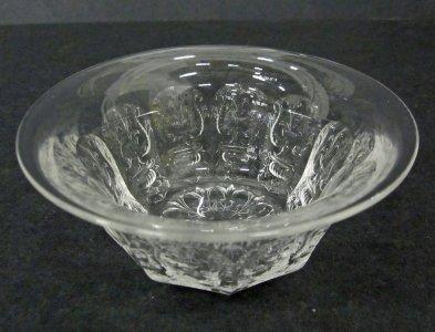 Davidson ? Glass Bagley/sowerby/davidson A Vintage Art Deco Satin Glass Bowl