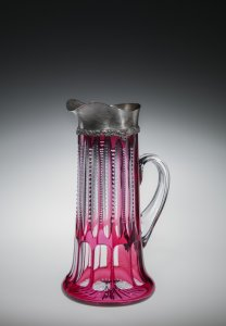 Silver-rimmed Pitcher