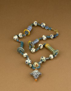 Necklace of Inlaid Beads