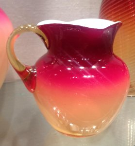 Cream Pitcher, Peachblow