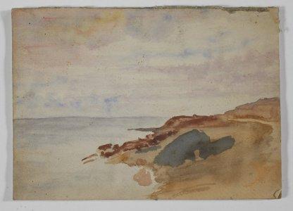 [Seascape] [art original] / Gladys M. Carder.