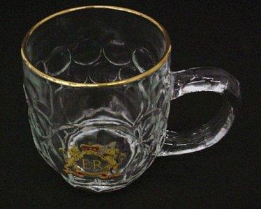 Enameled Mug with Royal Crown Medallion