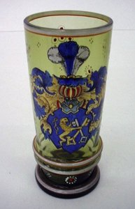 Armorial Beaker with Lion and Two Keys