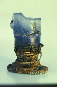 Copper/glass vessel [slide].