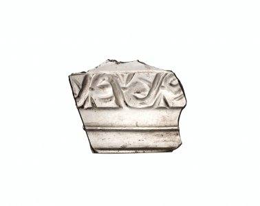 Fragment with Vegetal Scroll