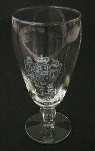 Goblet with Enameled Royal Coat of Arms