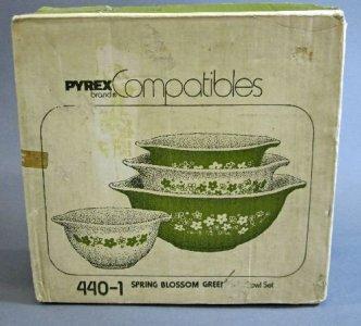 Original Pyrex Packaging