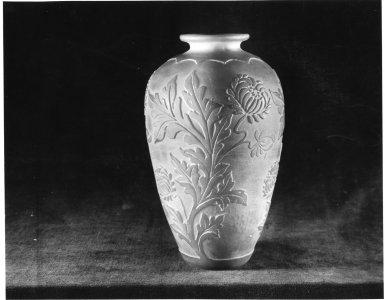 Shape no.: 6391 [acid etched vase] [picture].