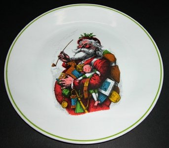 Corning Designs Corelle Christmas Plate