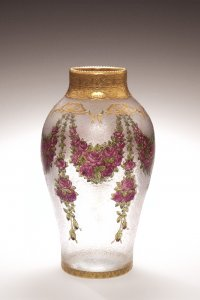 Enameled and Gilded Vase