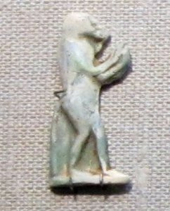 Standing Baboon Amulet