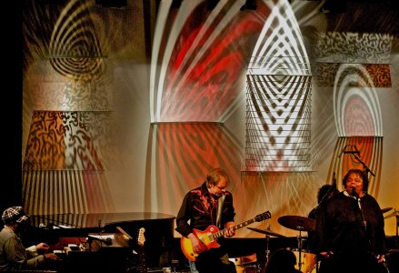 Light Show at the Falcon Jazz Club [picture].
