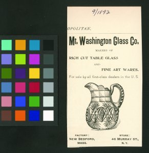 [Advertisement for Rich Cut table glass and Fine Art wares] [advertisement].
