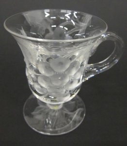 """French Other French Art Glass Temperate Vannes Cristal Art Glass French Crystal 21"""" Centerpiece Bowl"""