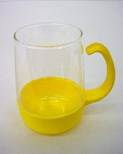 Pyrex Cup with Holder