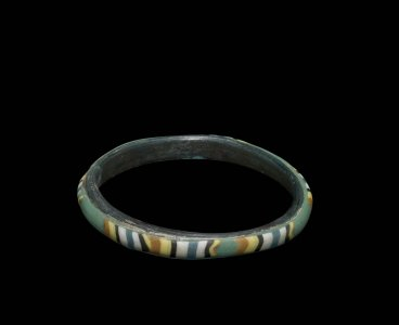 Bracelet with Striped Patches