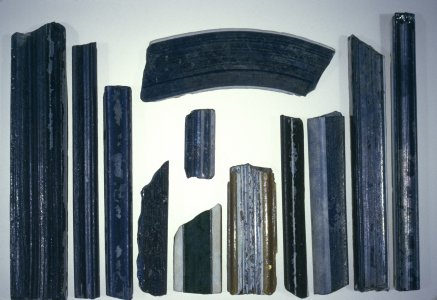 13 Fragments of Composite Molding Strips